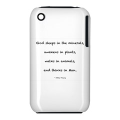 Inspirational Quote (arthur Young) Iphone 3s/3gs by DeneWestUK
