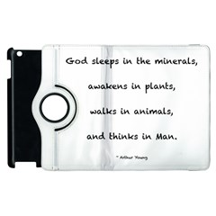 Inspirational Quote (arthur Young) Apple Ipad 2 Flip 360 Case by DeneWestUK