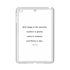 Inspirational Quote (arthur Young) Ipad Mini 2 Enamel Coated Cases