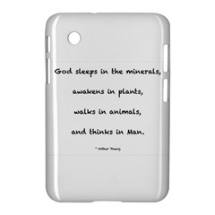 Inspirational Quote (arthur Young) Samsung Galaxy Tab 2 (7 ) P3100 Hardshell Case  by DeneWestUK