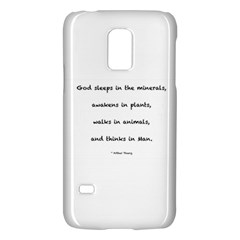Inspirational Quote (arthur Young) Galaxy S5 Mini by DeneWestUK