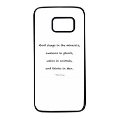 Inspirational Quote (arthur Young) Samsung Galaxy S7 Black Seamless Case