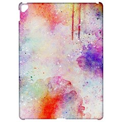Watercolor Galaxy Purple Pattern Apple Ipad Pro 12 9   Hardshell Case