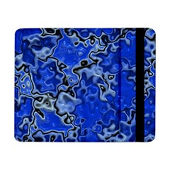 Wet Plastic, Blue Samsung Galaxy Tab Pro 8 4  Flip Case by MoreColorsinLife