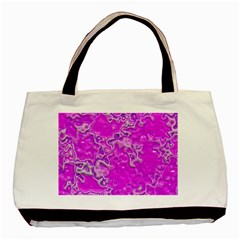 Wet Plastic, Pink Basic Tote Bag (two Sides) by MoreColorsinLife