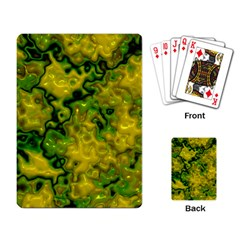 Wet Plastic, Yellow Playing Card