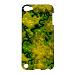 Wet Plastic, Yellow Apple Ipod Touch 5 Hardshell Case by MoreColorsinLife