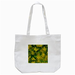 Wet Plastic, Yellow Tote Bag (white) by MoreColorsinLife