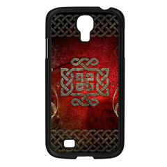 The Celtic Knot With Floral Elements Samsung Galaxy S4 I9500/ I9505 Case (black) by FantasyWorld7