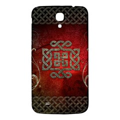 The Celtic Knot With Floral Elements Samsung Galaxy Mega I9200 Hardshell Back Case by FantasyWorld7