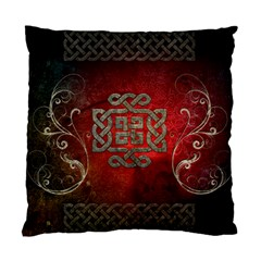 The Celtic Knot With Floral Elements Standard Cushion Case (one Side) by FantasyWorld7