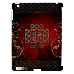 The Celtic Knot With Floral Elements Apple Ipad 3/4 Hardshell Case (compatible With Smart Cover) by FantasyWorld7