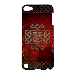 The Celtic Knot With Floral Elements Apple Ipod Touch 5 Hardshell Case by FantasyWorld7
