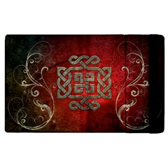 The Celtic Knot With Floral Elements Apple Ipad 3/4 Flip Case by FantasyWorld7
