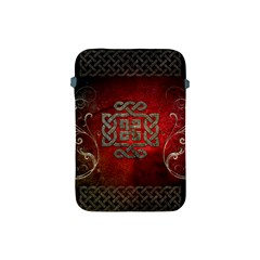 The Celtic Knot With Floral Elements Apple Ipad Mini Protective Soft Cases by FantasyWorld7