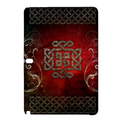 The Celtic Knot With Floral Elements Samsung Galaxy Tab Pro 10 1 Hardshell Case by FantasyWorld7
