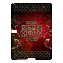The Celtic Knot With Floral Elements Samsung Galaxy Tab S (10 5 ) Hardshell Case  by FantasyWorld7