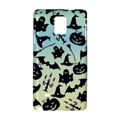 Spooky Halloween Samsung Galaxy Note 4 Hardshell Case by allgirls