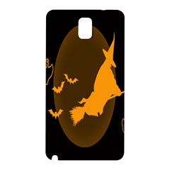 Day Hallowiin Ghost Bat Cobwebs Full Moon Spider Samsung Galaxy Note 3 N9005 Hardshell Back Case by Mariart