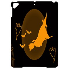 Day Hallowiin Ghost Bat Cobwebs Full Moon Spider Apple Ipad Pro 9 7   Hardshell Case by Mariart