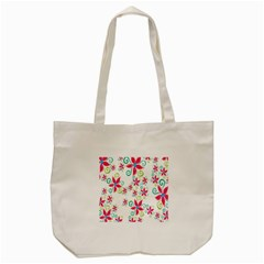 Flower Beauty Sexy Rainbow Sunflower Pink Green Blue Tote Bag (cream)