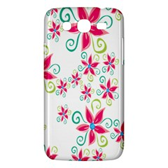 Flower Beauty Sexy Rainbow Sunflower Pink Green Blue Samsung Galaxy Mega 5 8 I9152 Hardshell Case  by Mariart