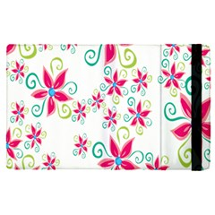 Flower Beauty Sexy Rainbow Sunflower Pink Green Blue Apple Ipad Pro 12 9   Flip Case by Mariart