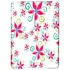 Flower Beauty Sexy Rainbow Sunflower Pink Green Blue Apple Ipad Pro 9 7   Hardshell Case by Mariart