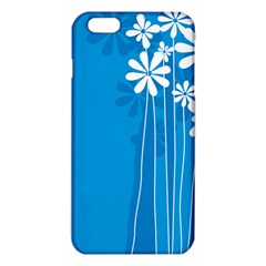 Flower Blue Iphone 6 Plus/6s Plus Tpu Case by Mariart