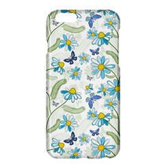 Flower Blue Butterfly Leaf Green Apple Iphone 6 Plus/6s Plus Hardshell Case by Mariart
