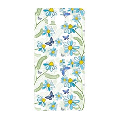 Flower Blue Butterfly Leaf Green Samsung Galaxy Alpha Hardshell Back Case by Mariart
