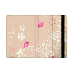 Flower Bird Love Pink Heart Valentine Animals Star Apple Ipad Mini Flip Case