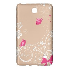 Flower Bird Love Pink Heart Valentine Animals Star Samsung Galaxy Tab 4 (8 ) Hardshell Case  by Mariart