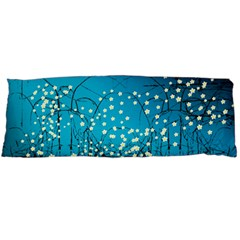 Flower Back Leaf River Blue Star Body Pillow Case Dakimakura (two Sides) by Mariart