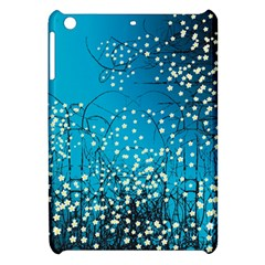 Flower Back Leaf River Blue Star Apple Ipad Mini Hardshell Case by Mariart