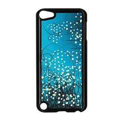 Flower Back Leaf River Blue Star Apple Ipod Touch 5 Case (black) by Mariart
