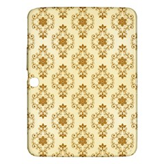 Flower Brown Star Rose Samsung Galaxy Tab 3 (10 1 ) P5200 Hardshell Case