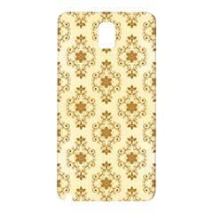 Flower Brown Star Rose Samsung Galaxy Note 3 N9005 Hardshell Back Case by Mariart