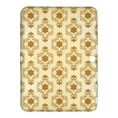Flower Brown Star Rose Samsung Galaxy Tab 4 (10 1 ) Hardshell Case  by Mariart