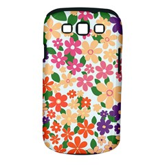 Flower Floral Rainbow Rose Samsung Galaxy S Iii Classic Hardshell Case (pc+silicone) by Mariart