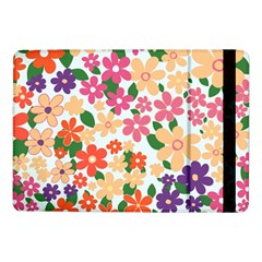 Flower Floral Rainbow Rose Samsung Galaxy Tab Pro 10 1  Flip Case by Mariart