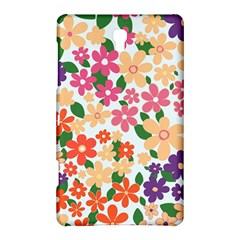 Flower Floral Rainbow Rose Samsung Galaxy Tab S (8 4 ) Hardshell Case  by Mariart