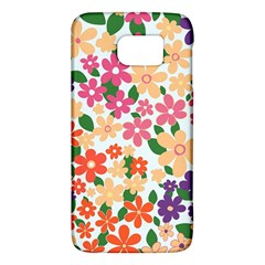 Flower Floral Rainbow Rose Galaxy S6 by Mariart