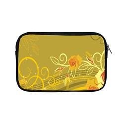 Flower Floral Yellow Sunflower Star Leaf Line Gold Apple Macbook Pro 13  Zipper Case by Mariart