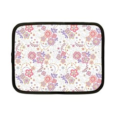 Flower Floral Sunflower Rose Purple Red Star Netbook Case (small)  by Mariart