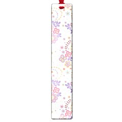 Flower Floral Sunflower Rose Purple Red Star Large Book Marks by Mariart