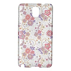 Flower Floral Sunflower Rose Purple Red Star Samsung Galaxy Note 3 N9005 Hardshell Case by Mariart