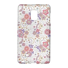 Flower Floral Sunflower Rose Purple Red Star Galaxy Note Edge by Mariart