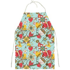 Flower Fruit Star Polka Rainbow Rose Full Print Aprons