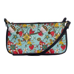 Flower Fruit Star Polka Rainbow Rose Shoulder Clutch Bags by Mariart